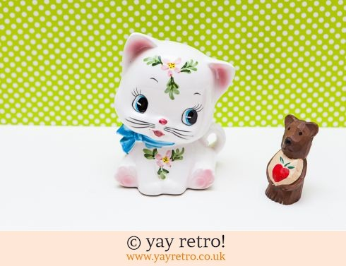 0: Kitsch Cat Money Box 1960s (£12.75)