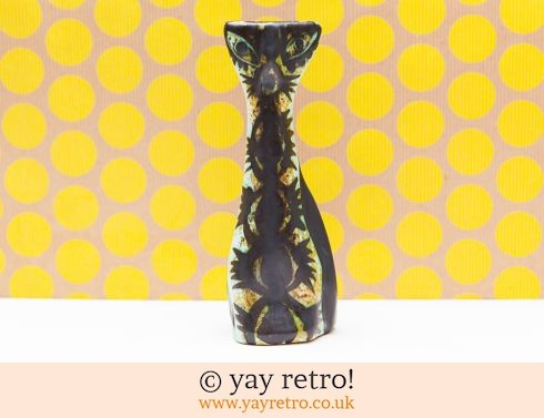 651: Celtic Pottery Newlyn 1960s Cat (£32.00)