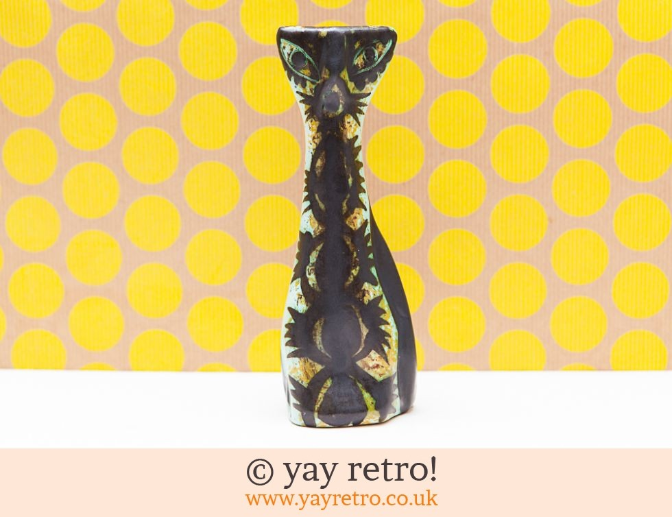 Celtic Pottery Newlyn: Celtic Pottery Newlyn 1960s Cat (£33.00)